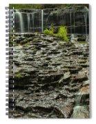 Glassy Rocks At Mohawk Spiral Notebook