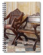 Glastonbury Chairs Spiral Notebook