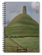 Glastonbury Tor Spiral Notebook