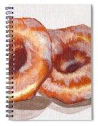Glazed Donuts Spiral Notebook