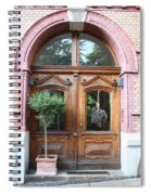 Glazed Door Spiral Notebook