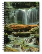 Glen Leigh River Rocks And Falls Spiral Notebook