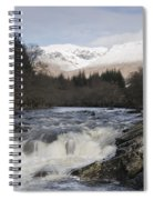 Glen Orchy Scotland Spiral Notebook