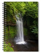 Glencar Waterfall Is Situated Spiral Notebook