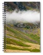 Misty Mountain Landscape Spiral Notebook