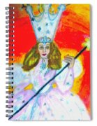 Glenda The Good Witch Of Oz Spiral Notebook