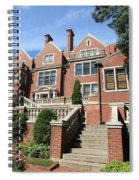 Glensheen Mansion Exterior Spiral Notebook