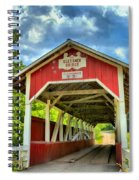 Glessner Covered Bridge Spiral Notebook