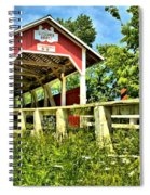 Glessner Wooden Bridge Spiral Notebook