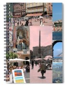 Glimpses Of Italy Spiral Notebook