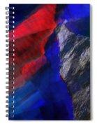 Glitchscape - Liquefaction Spiral Notebook