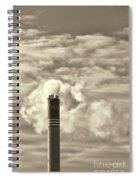 Global Warming Spiral Notebook