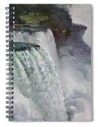 Gloomy Day At Niagara Falls Spiral Notebook