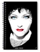 Gloria Swanson - Edith Piaf Spiral Notebook
