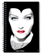 Gloria Swanson Malefica Spiral Notebook