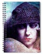 Gloria Swanson Oil Spiral Notebook