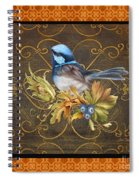 Glorious Birds-b2 Spiral Notebook