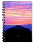 Glorious Boston Sunrise Spiral Notebook