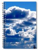 Glorious Clouds II Spiral Notebook