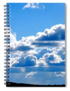 Glorious Clouds Spiral Notebook