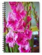 Glorious Gladiolus Spiral Notebook