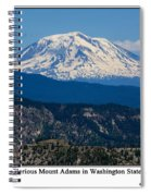 Glorious Mount Adams Spiral Notebook