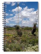 Glorious Spring In The Desert Spiral Notebook