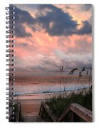 Glory Of Dawn Spiral Notebook