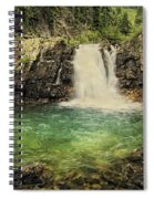 Glory Pool Spiral Notebook