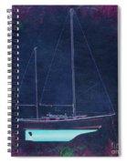 Glory Rose Spiral Notebook
