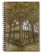 Gloucester Cathedral Cloisters Spiral Notebook