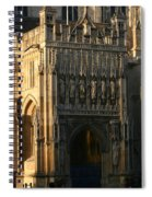 Gloucester Cathedral Entrance Spiral Notebook