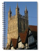 Gloucester Cathedral Spire Spiral Notebook