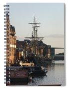 Gloucester Docks 1 Spiral Notebook