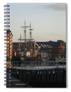 Gloucester Docks 3 Spiral Notebook