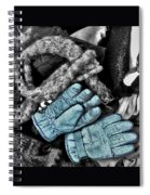 Gloves And Frost Spiral Notebook