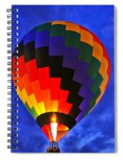 Glowing At Dusk Spiral Notebook