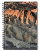 Glowing Badlands Tips Spiral Notebook