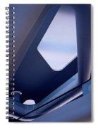Glowing Elegance Spiral Notebook