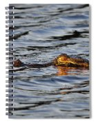 Glowing Gator Spiral Notebook