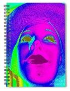 Glowing Gigi Spiral Notebook