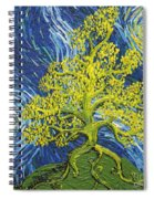 Glowing In The Balance Spiral Notebook