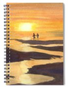 Glowing Moments Spiral Notebook