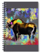 Electric Moose Spiral Notebook