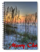 Glowing Sea Oats Sunrise Spiral Notebook