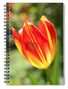 Glowing Tulip Spiral Notebook