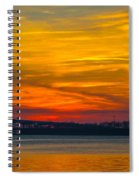 Glowing With Color Spiral Notebook