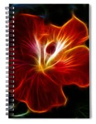 Glowing Within Spiral Notebook