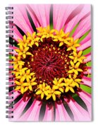 Glowing Zinnia By Kaye Menner Spiral Notebook