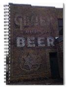 Gluek Beer Spiral Notebook
